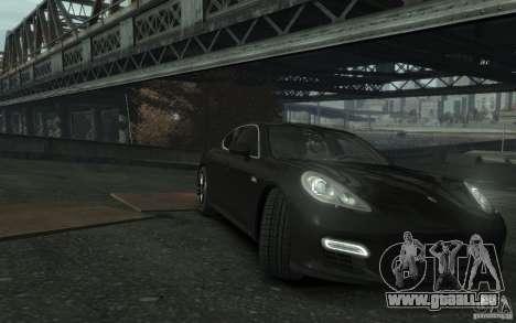 Porsche Panamera Turbo pour GTA 4 est une vue de l'intérieur