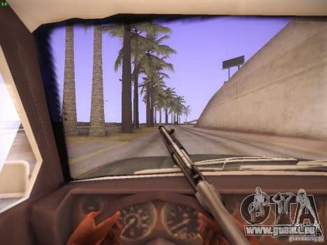 CamHack v1.2 pour GTA San Andreas deuxième écran