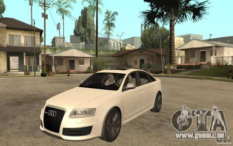 Audi RS6 2009 pour GTA San Andreas