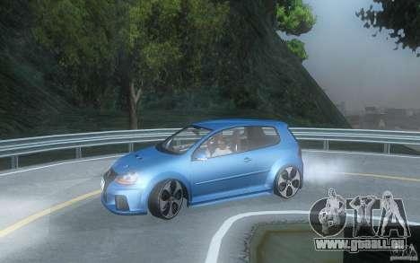 VolksWagen Golf GTI W12 TT Black Revel für GTA San Andreas linke Ansicht
