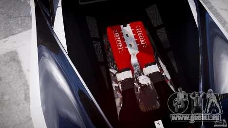 Ferrari 458 Italia - Brazilian Police [ELS] pour GTA 4 est une vue de dessous
