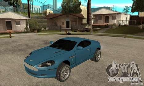 Aston Martin DB9 aus NFS MW für GTA San Andreas