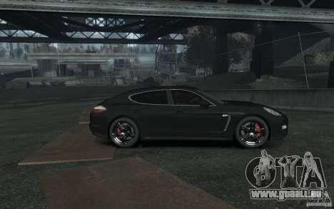 Porsche Panamera Turbo pour GTA 4 est une gauche