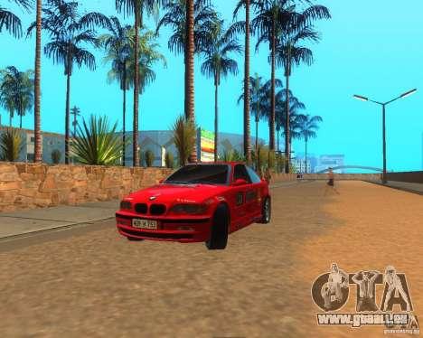 BMW 318i E46 2003 pour GTA San Andreas