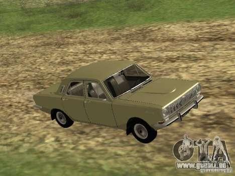 GAZ 24-01 pour GTA San Andreas laissé vue
