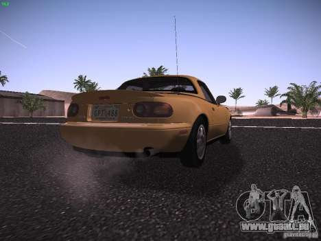 Mazda MX-5 1997 pour GTA San Andreas vue de droite