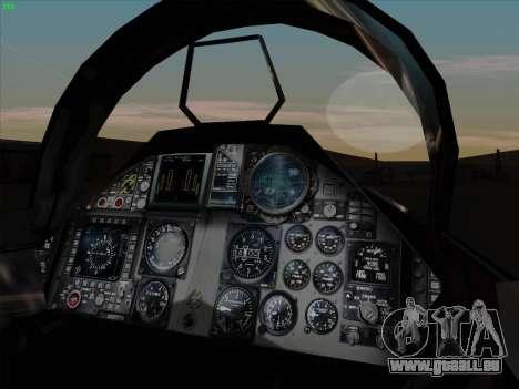 F-15C für GTA San Andreas Seitenansicht