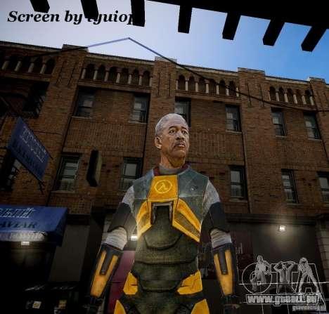 Morgan Freeman pour GTA 4