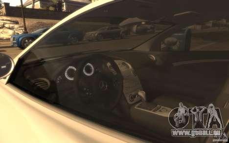 Mercedes-Benz SLR McLaren pour GTA 4 Vue arrière de la gauche