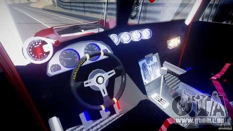 Peterbilt Sport Truck Custom pour GTA 4 est une vue de dessous