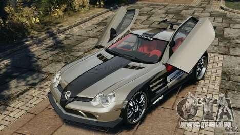 Mercedes-Benz SLR Volcano 2008 Hamann v1.0 pour GTA 4 est un côté