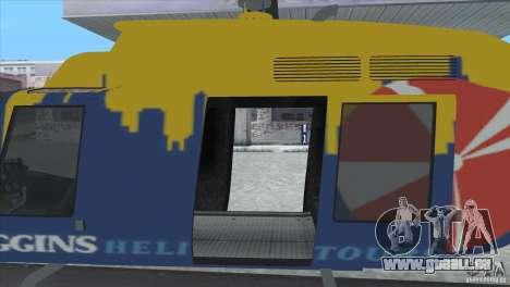 GTA IV News Maverick für GTA San Andreas rechten Ansicht