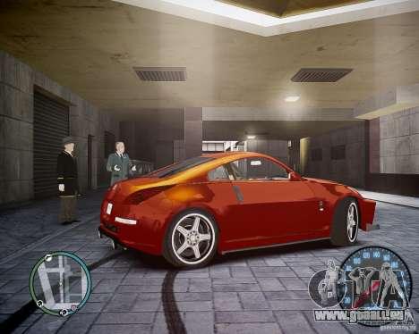 Nissan 350Z Z33 pour GTA 4 est un droit