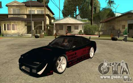 Nissan 180SX - Koguchi Power für GTA San Andreas