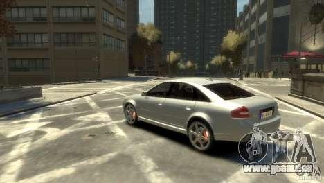 Audi RS6 2003 pour GTA 4 est une gauche