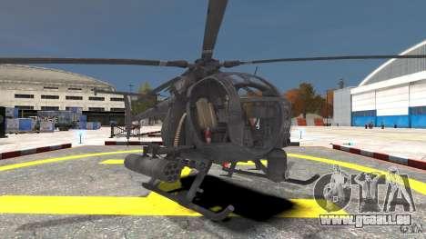 New AH-6 Little Bird pour GTA 4