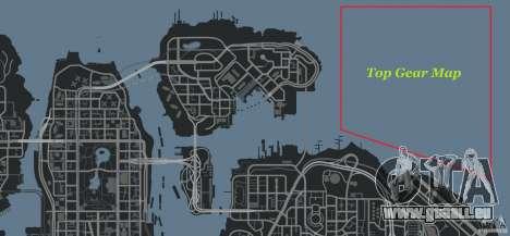 Top Gear Map pour GTA 4 septième écran