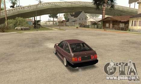 Toyota Corolla 1986 Levin pour GTA San Andreas laissé vue