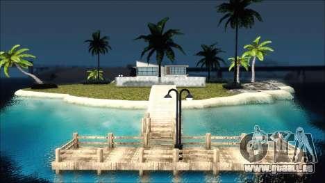Diegoforfuns Modern House pour GTA San Andreas deuxième écran