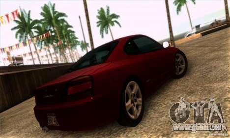 Nissan Silvia S15 Tunable pour GTA San Andreas laissé vue