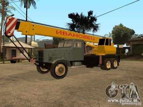 Camion KrAZ pour GTA San Andreas