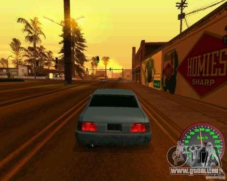 Neue Tacho für GTA San Andreas dritten Screenshot