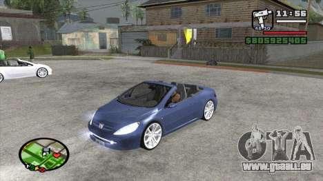 Peugeot 307 BMS Edition für GTA San Andreas