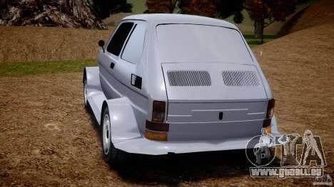 Fiat 126p Bis Rally pour GTA 4 Vue arrière de la gauche