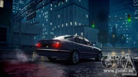 BMW M5 (E34) 1995 v1.0 pour GTA 4 Vue arrière