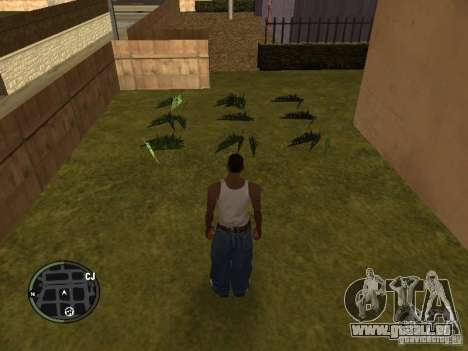 La marijuana v2 pour GTA San Andreas quatrième écran