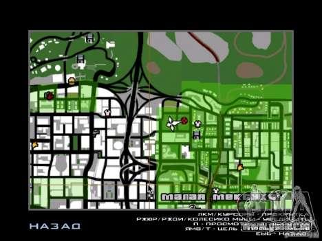 Predator pour GTA San Andreas quatrième écran