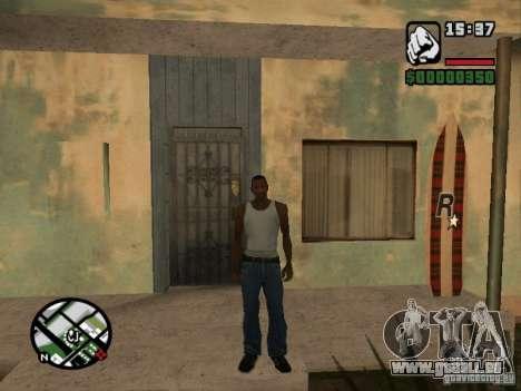 Cerf pour GTA San Andreas cinquième écran