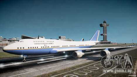 Air Force One v1.0 für GTA 4 linke Ansicht