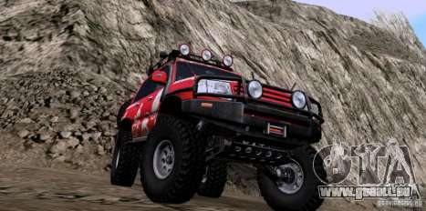 Toyota Land Cruiser 100 Off-Road pour GTA San Andreas vue de droite