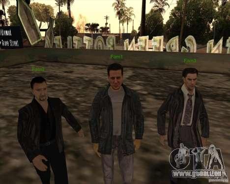 Weiße Grooves für GTA San Andreas