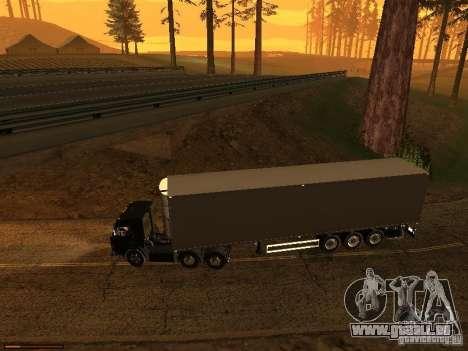 Remorque feux v3.0 pour GTA San Andreas troisième écran
