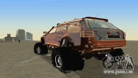 Audi Allroad Offroader für GTA Vice City rechten Ansicht