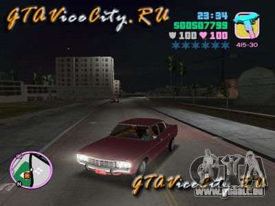 Ford AMC Matador pour GTA Vice City