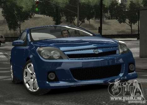 Opel Astra OPC für GTA 4 Rückansicht
