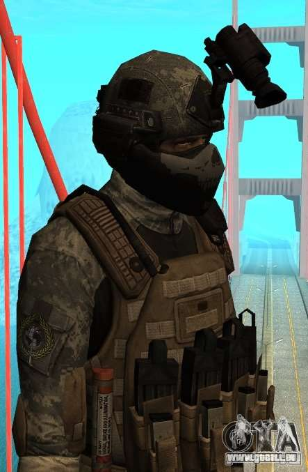 USA Army Special Forces für GTA San Andreas zweiten Screenshot