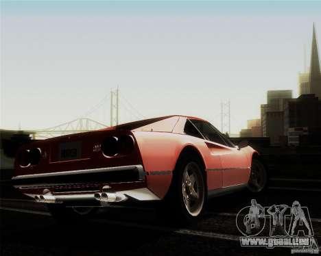Ferrari 308 GTS Quattrovalvole pour GTA San Andreas vue de côté