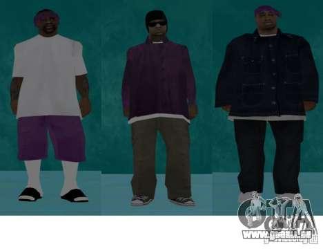 Skins Bands HQ für GTA San Andreas fünften Screenshot