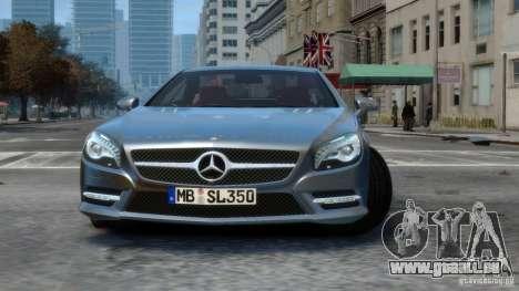 Mercedes-Benz SL 350 2013 v1.0 pour GTA 4 est une gauche