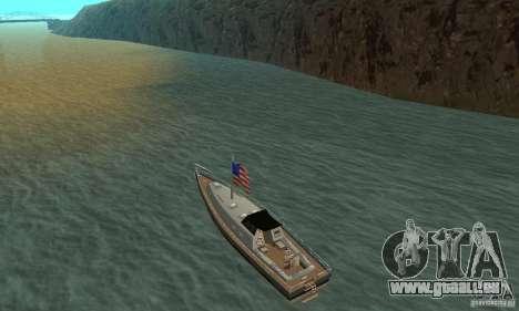 USA Marquis pour GTA San Andreas sur la vue arrière gauche
