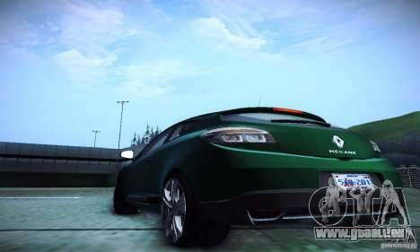 Renault Megane Coupe für GTA San Andreas Innenansicht