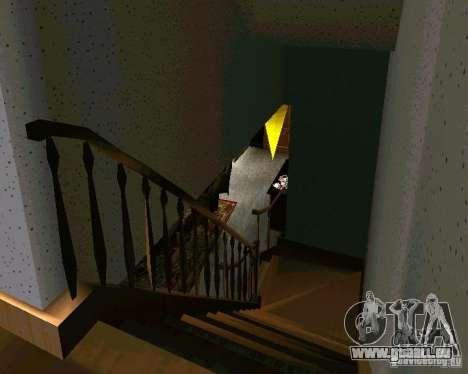 Nouvelle maison CJ v2.0 pour GTA San Andreas quatrième écran