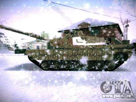 M1A2 Abrams de Battlefield 3 pour GTA San Andreas vue de droite