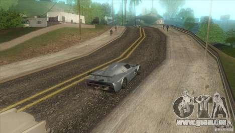 Qualität-Straße in die LS für GTA San Andreas fünften Screenshot