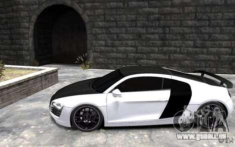 Audi R8 2008 Beta pour GTA 4 est une gauche