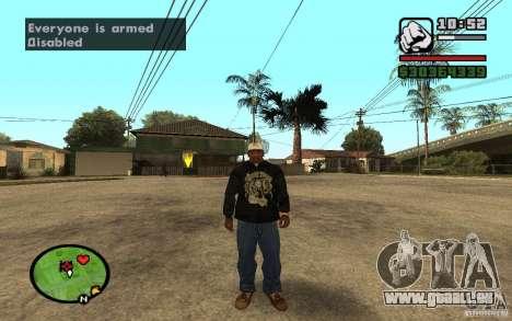 CAMZum beta disponible de GTA 5 pour GTA San Andreas cinquième écran